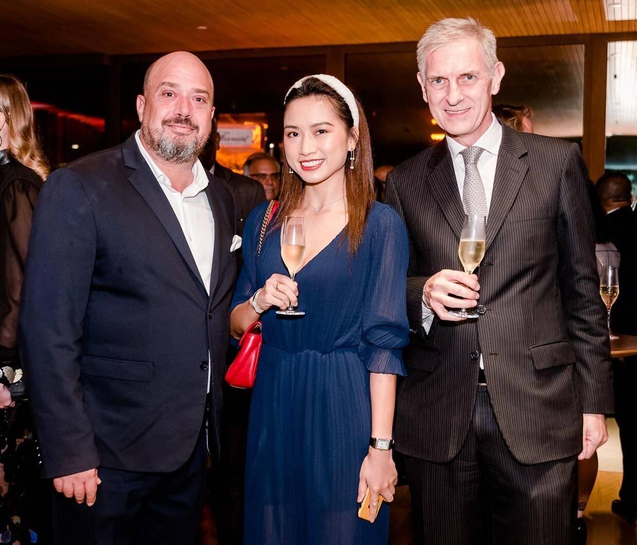 Michael Nagy, Qian Wang e Rudolf Wyss /Foto: Bruno Ryfer