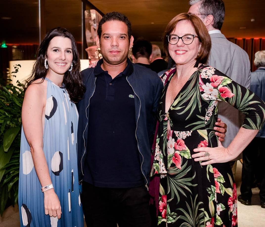 Patricia Tremblais, Gilberto Junior e Marcia Disitzer /Foto: Bruno Ryfer