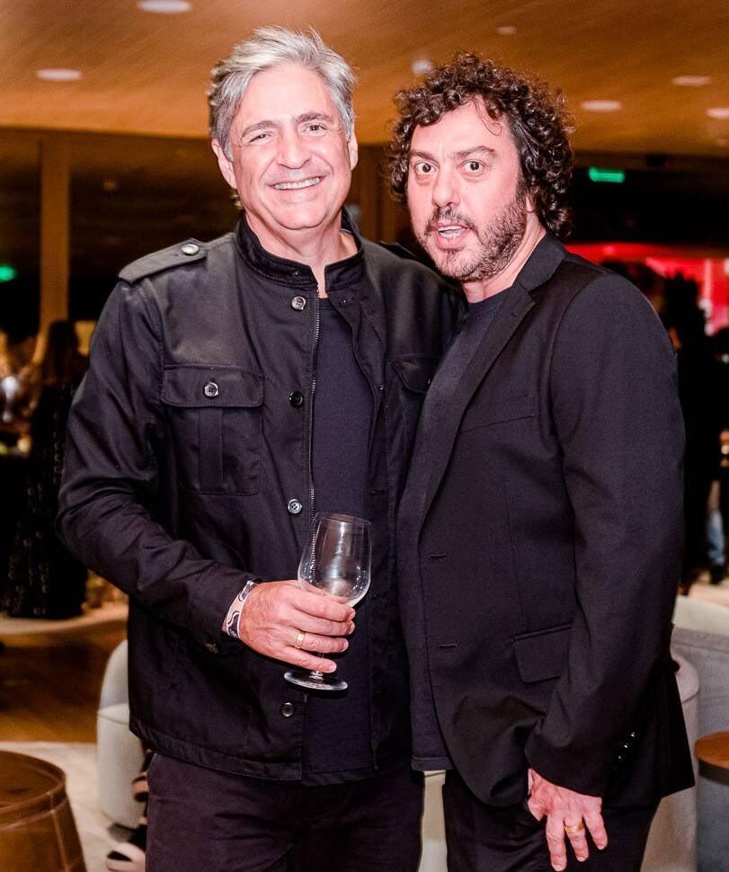 Toni Oliveira e Marcelo Balbio /Foto: Bruno Ryfer