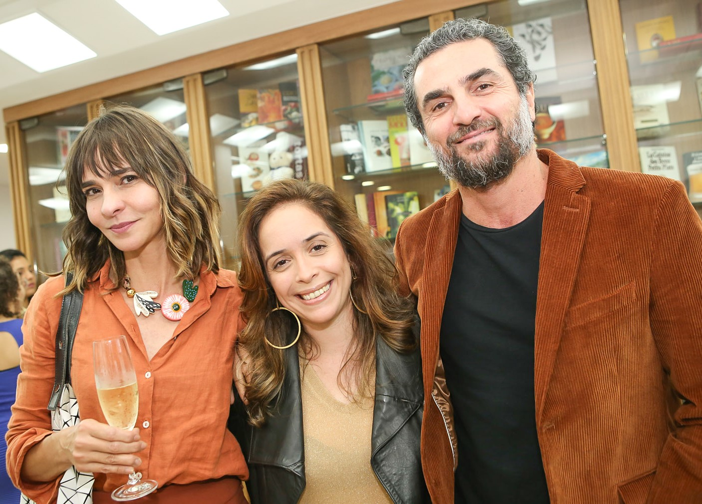 Zazá Piereck, Paula Pandrini e Cello Macedo   /Foto: Gianne Carvalho