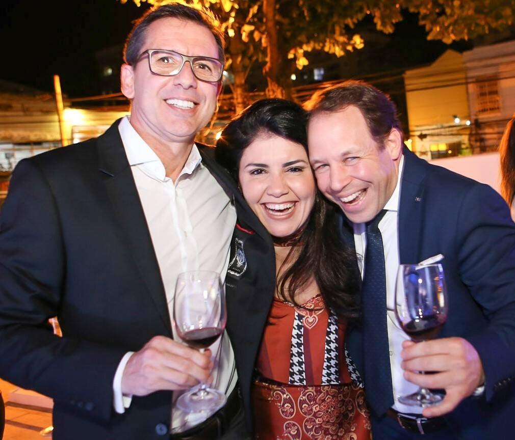 João Mesquita, Paula Rocha e David Mansaud  /Foto: Gianne Carvalho