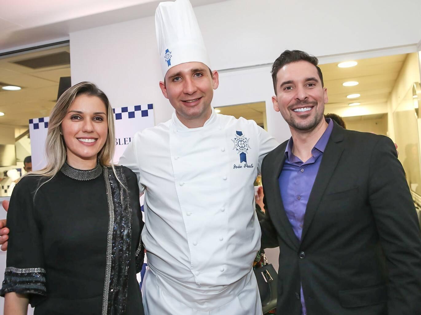 Ligia Reis, João Paulo Frankenfeld e Saulo Reis  /Foto: Gianne Carvalho