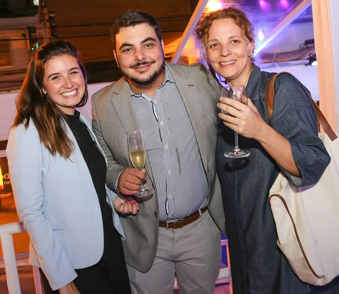 Maria Alice Hosken, Ricardo Lapeyre e Roberta Ciasca  /Foto: Gianne Carvalho