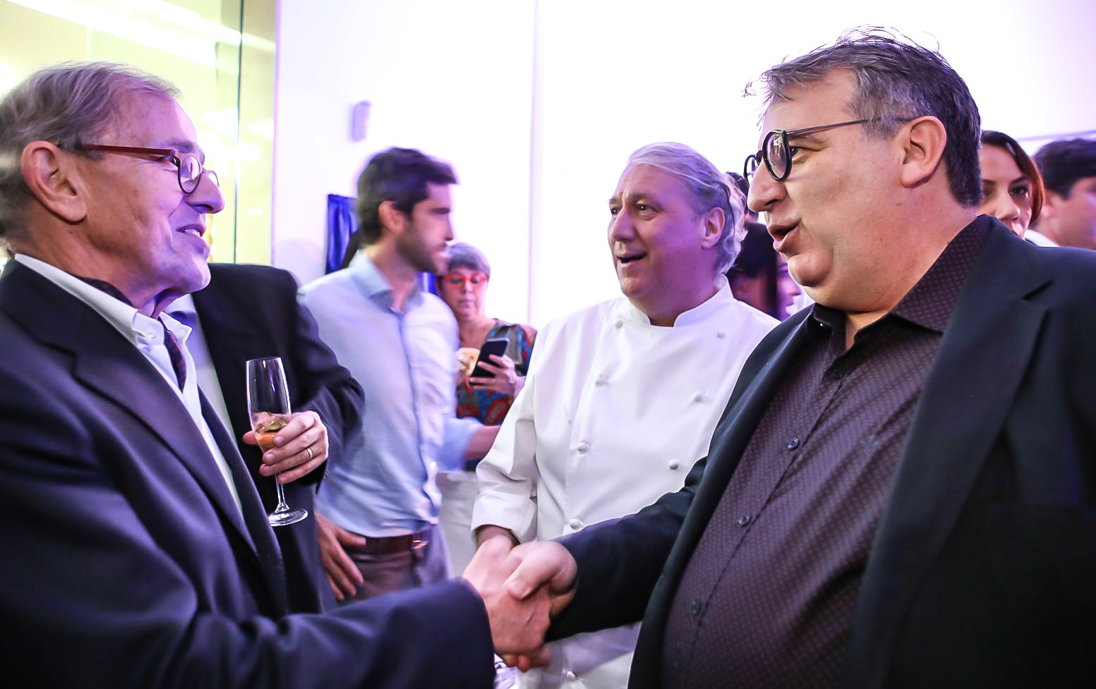 André Cointreau e Rolland Villard  /Foto: Gianne Carvalho