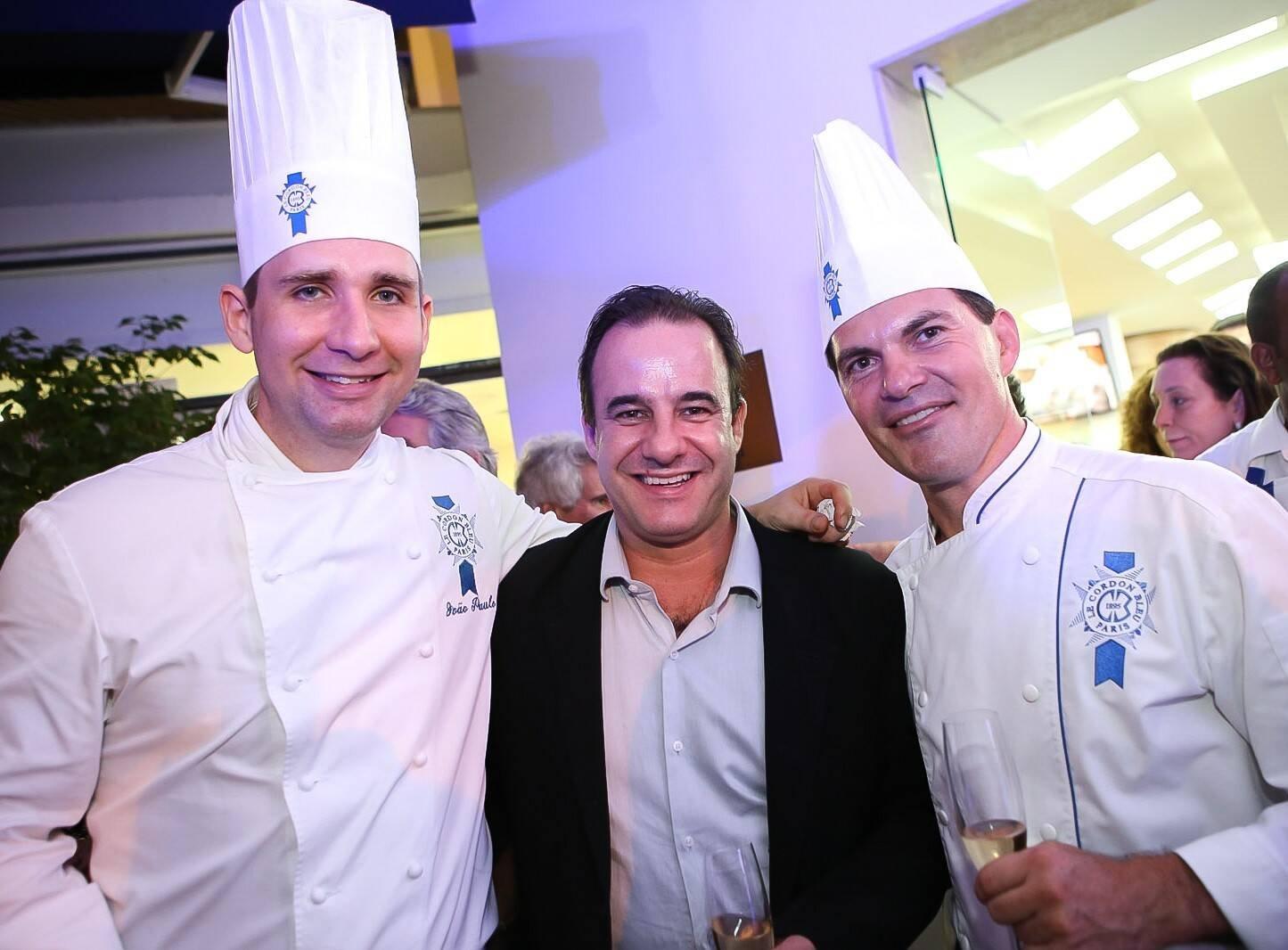 João Paulo Frankenfeld, Frederic Monier e Nicolas de La Cruz  /Foto: Gianne Carvalho
