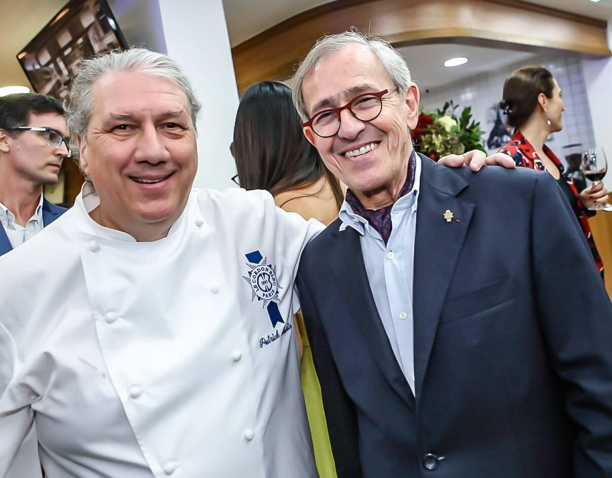 Patrick Martin e André Cointreau  /Foto: Gianne Carvalho