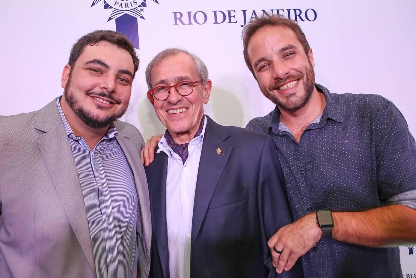 O chefs Ricardo Lapyere,  André Cointreau e Elias Schramm  /Foto: Gianne Carvalho