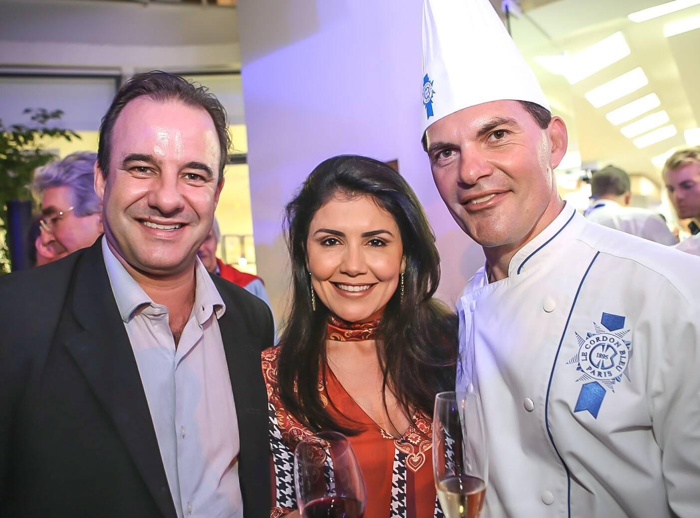 Frederic Monier, Paula Rocha e Nicolas de La Cruz  /Foto: Gianne Carvalho