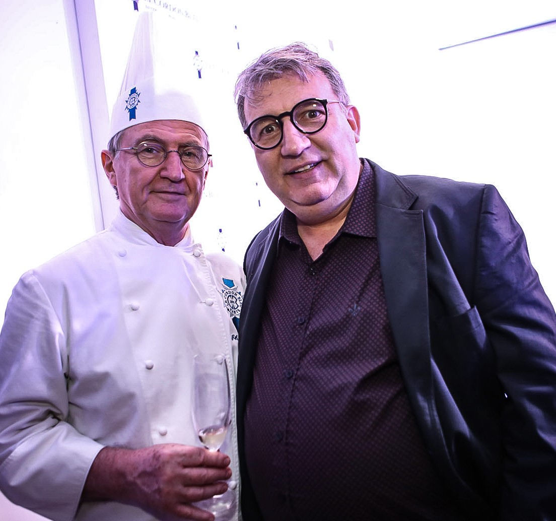 Philippe Brye e Rolland Villard  /Foto: Gianne Carvalho