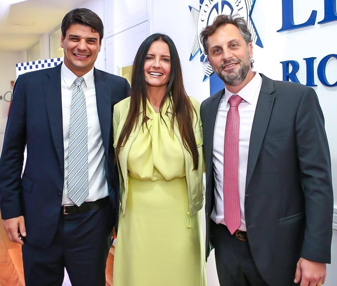 Gabriel Correia, Sofia Mesquita e Daniel Castanho  /Foto: Gianne Carvalho