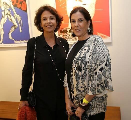 Ligia Frias e Helena Taunay