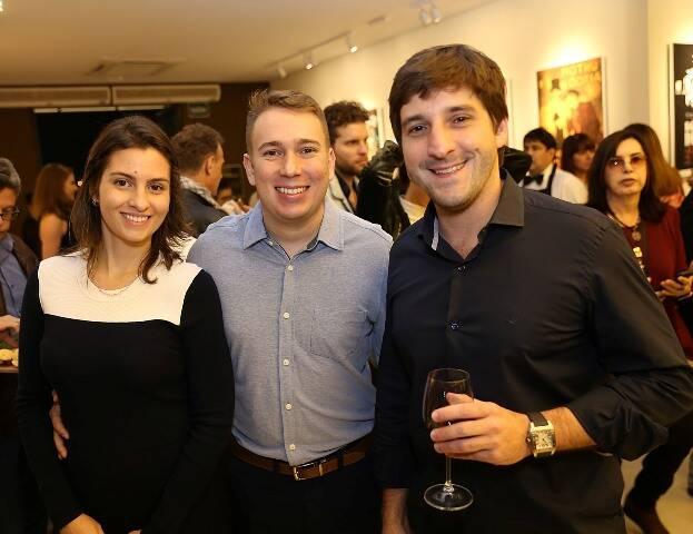 Rafaella de Castro, Rafael Garcia e João Luiz Niemeyer