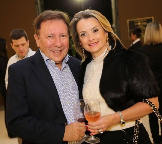 Aristides e Giselle Corbellini
