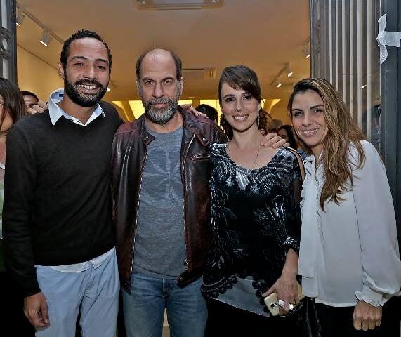 Silvio Guindane, Roberto Bomtempo, Mirian Freeland e Symone Strobel