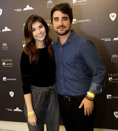 Carolina Cata Preta e João Guilherme Magalhães