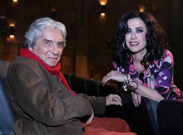 Domingos de Oliveira e Fernanda Torres