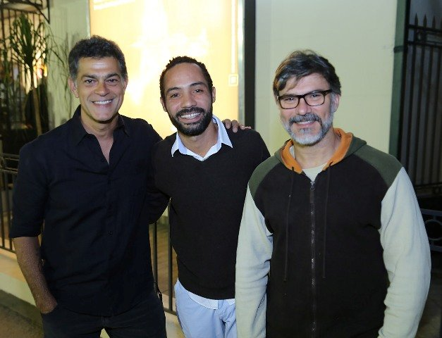 Du Moscovis, Silvio Guindane e Leonardo Vieira