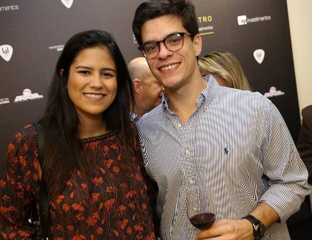 Anna Beatris Valente e João Gabriel Ribeiro da Costa