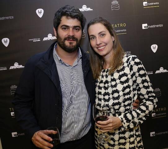André Torós e Liana Pacheco