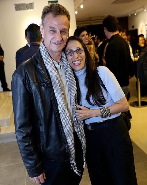 Carlos Lafert e Karen Acioly