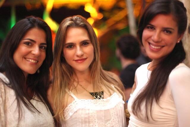 Samyra Ponce de Leon, Wanda Grandi e Carolina Ribeiro