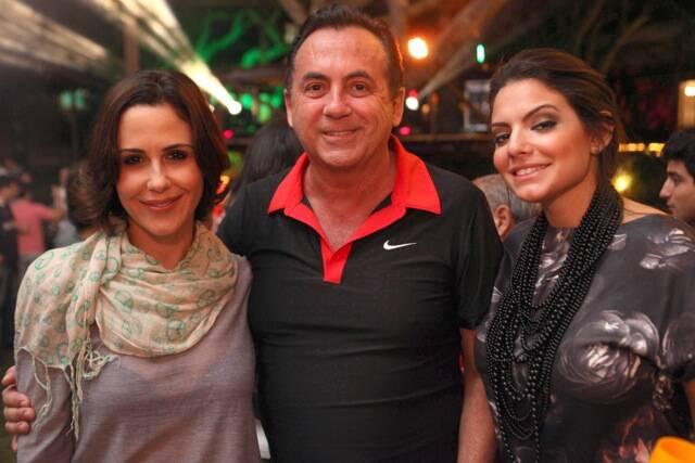 Guilhermina Guinle, Ricardo Rique e Tamara Fernandes