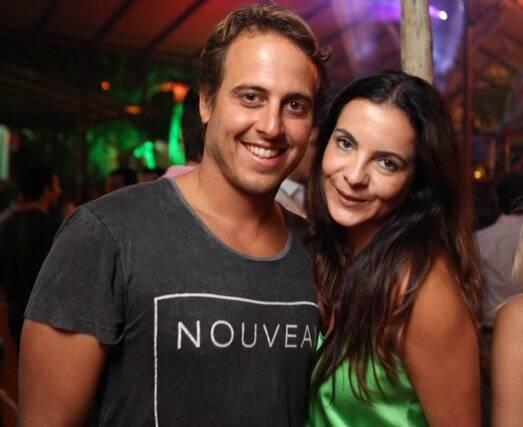 Maxime Perelmuter e Isabela Menezes
