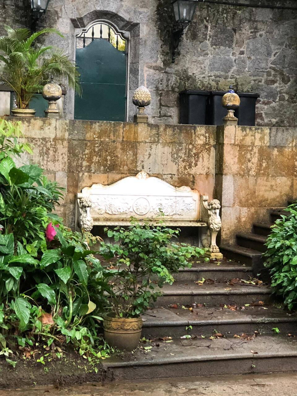 Jardim do instituto /Foto: Arquivo site Lu Lacerda