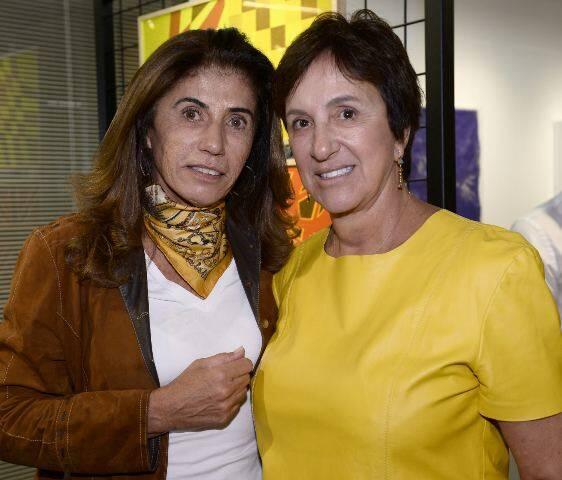 Claudia Landau e Lenise Secchin