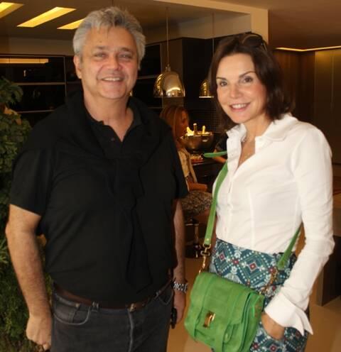 Pedro Paranaguá e Patrícia Mayer