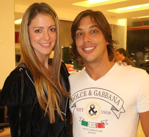 Mariana Bernardes e Leonardo Moreira