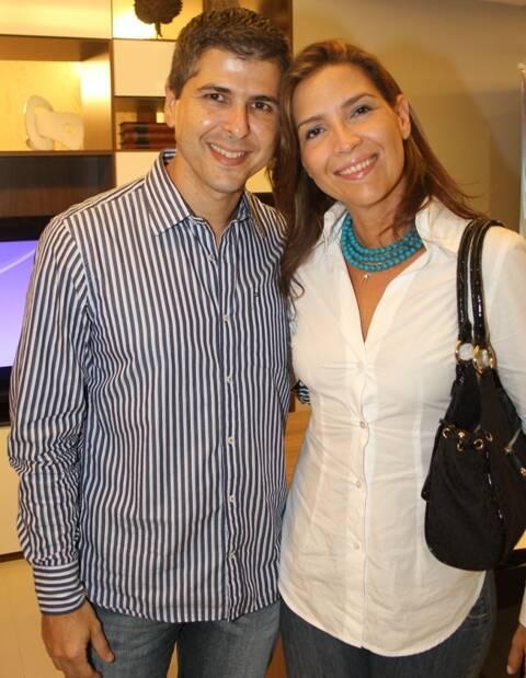 Berg Gonçalves e Alina Aguiar