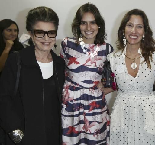 Costanza Pascolato, Karine Villas-Boas e Isabela Capeto