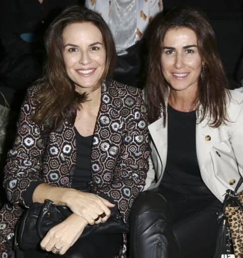 Cris Francini e Gigi Neves