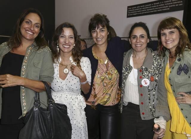 Isabel Queiroz, Isabela Capeto, Dani Laloum, Paola Siqueira e Simone Zuccolotto