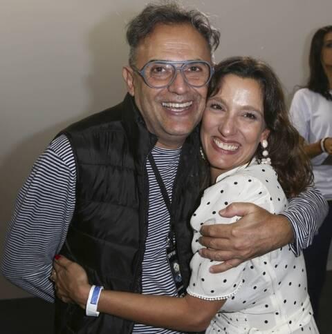 Paulo Borges e Isabela Capeto