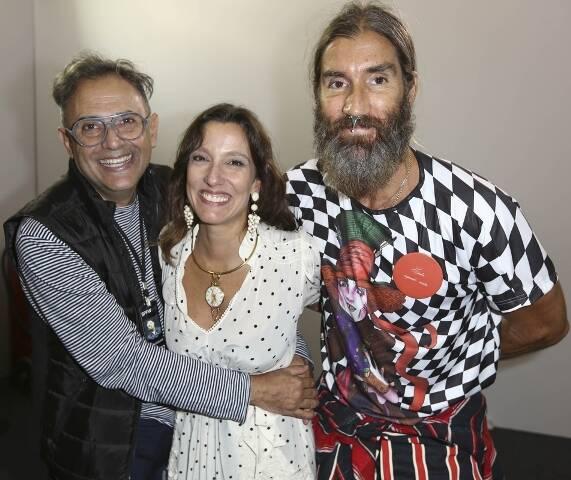 Paulo Borges, Isabela Capeto e Felipe Veloso
