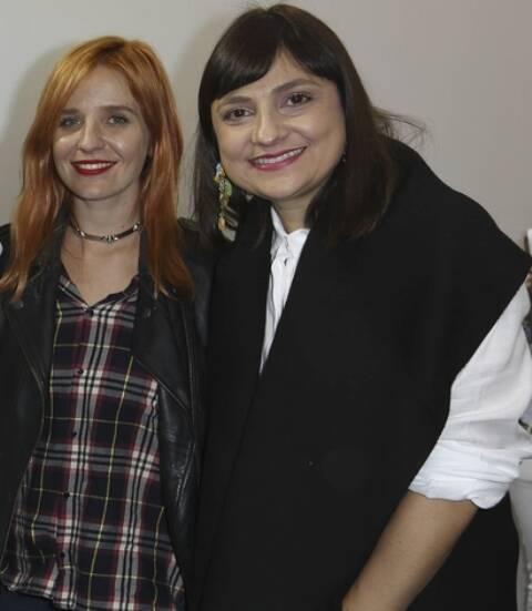 Rita Lazzarotti e Adriana Bechara