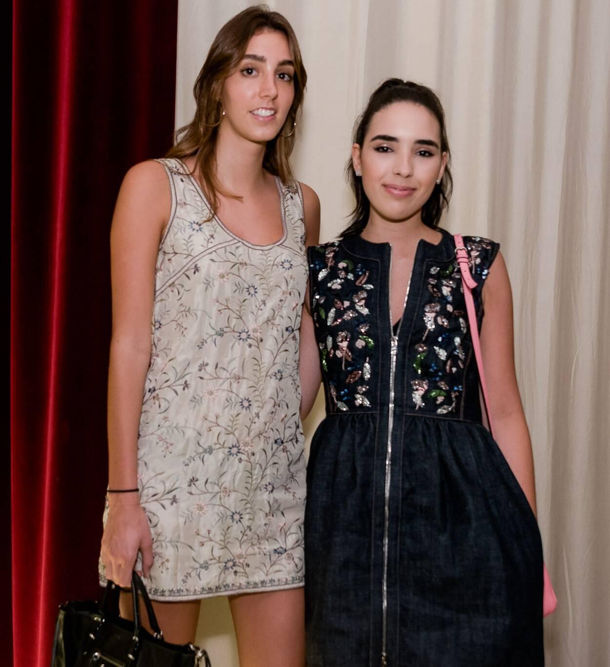 Sara Berger e Manoela Ferracciu /Foto:  Renato Wrobel