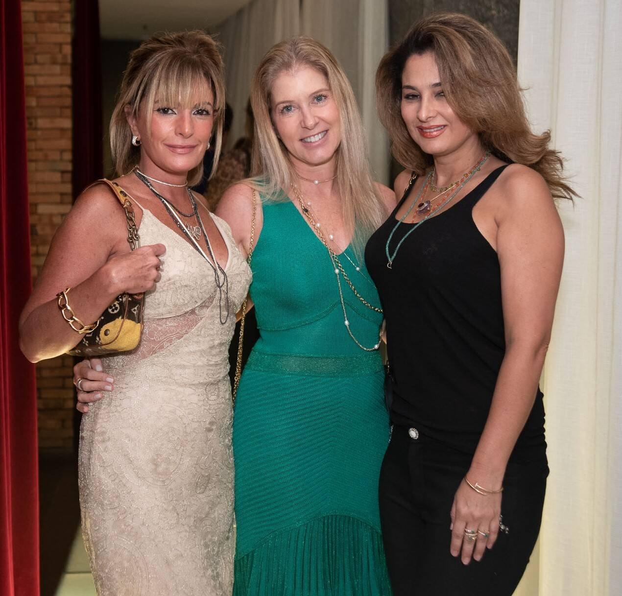 Gigi Senna, Monica kimelblat e Cris Senna /Foto:  Renato Wrobel