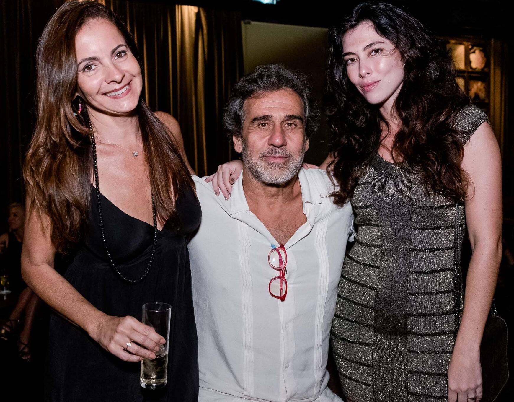 Isabela Menezes, Marcos Prado e Talita Rossi /Foto:  Renato Wrobel