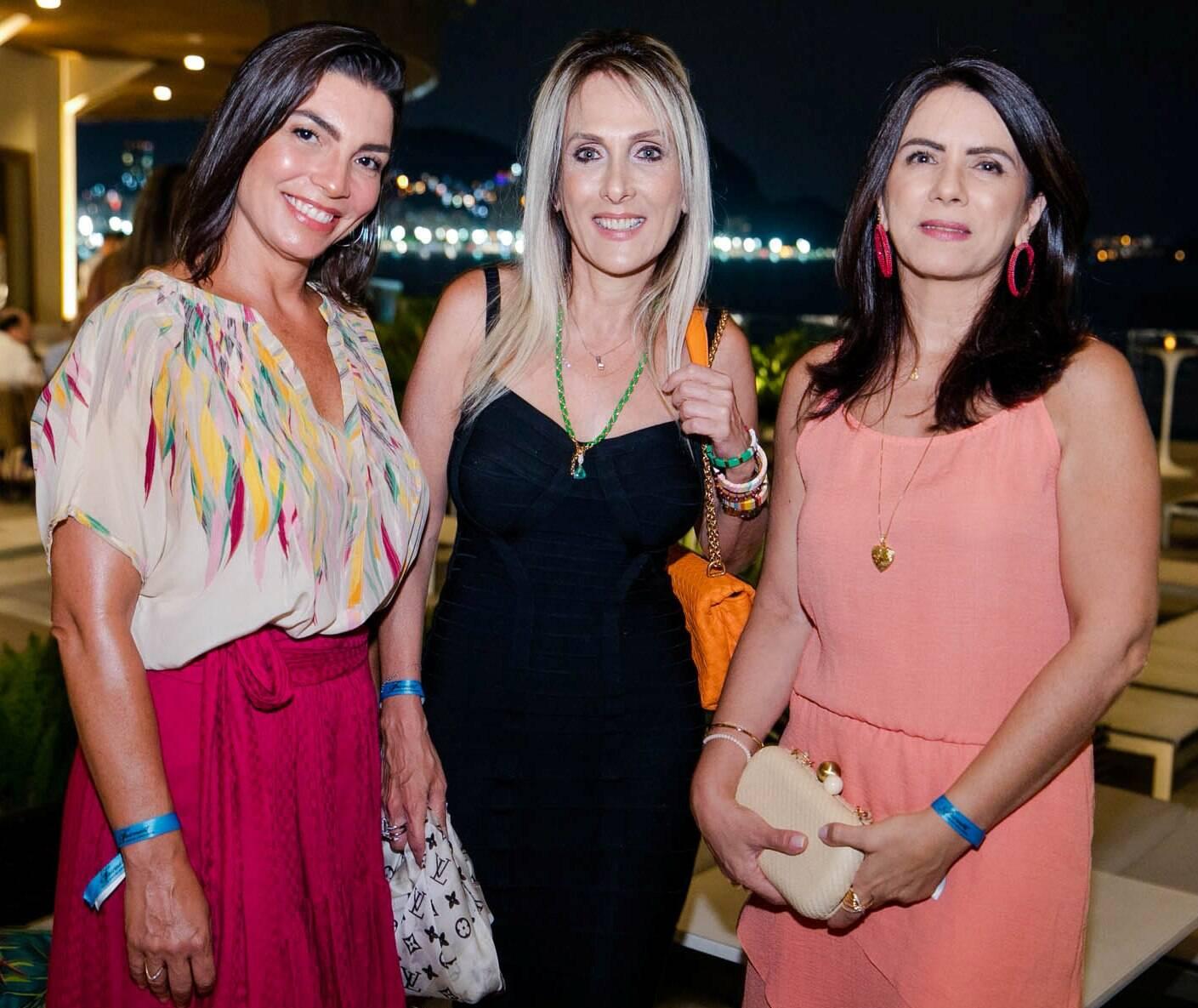 Adriana Moreira, Shirley Sobotka e Patricia Naggy /Foto: Miguel Sá