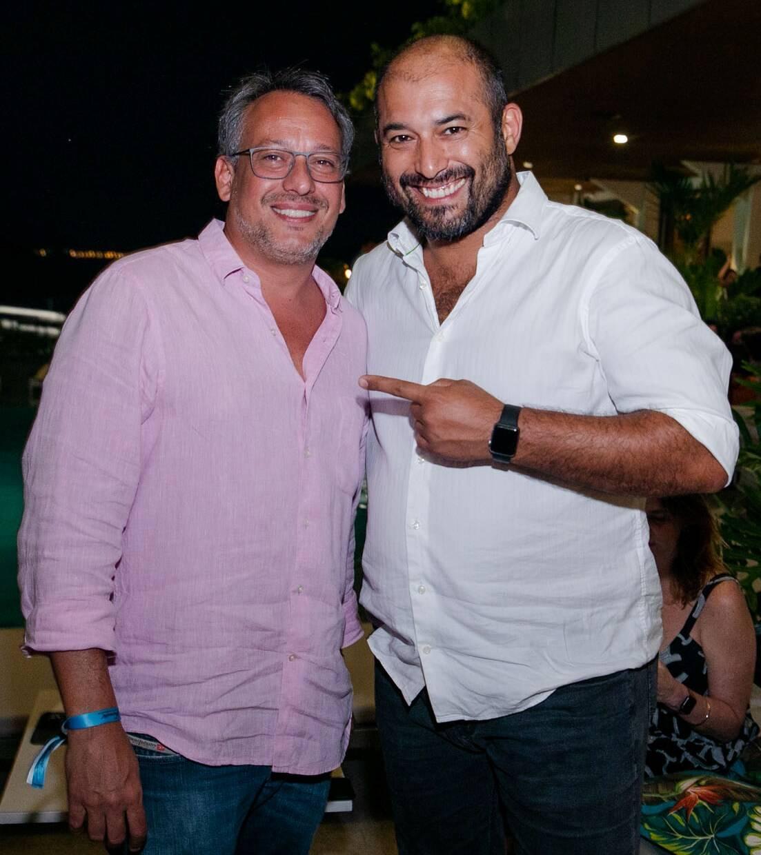 Antonio Pedro Figueira de Mello e Gaetano Lops /Foto: Miguel Sá