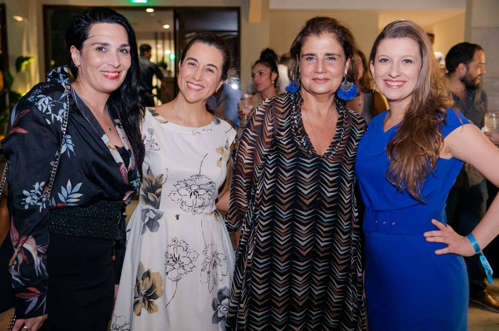 Fabiana Amorim, Simone Lara, Kátia d'Avillez e Camila Salgueiro /Foto: Miguel Sá