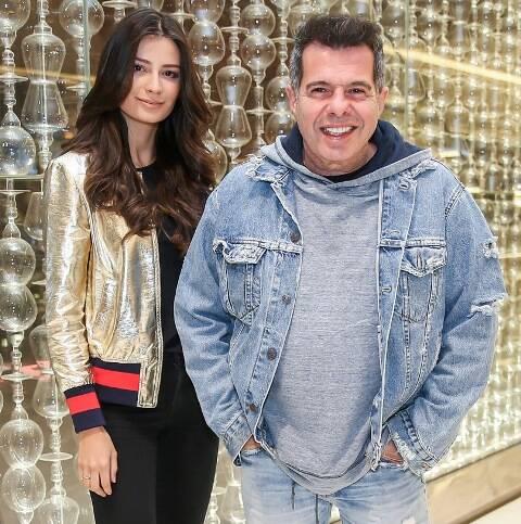 André Schiliro com a filha Allegra