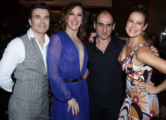 Jarbas Homem de Mello, Claudia Raia, Amir Slama e Luana Piovani