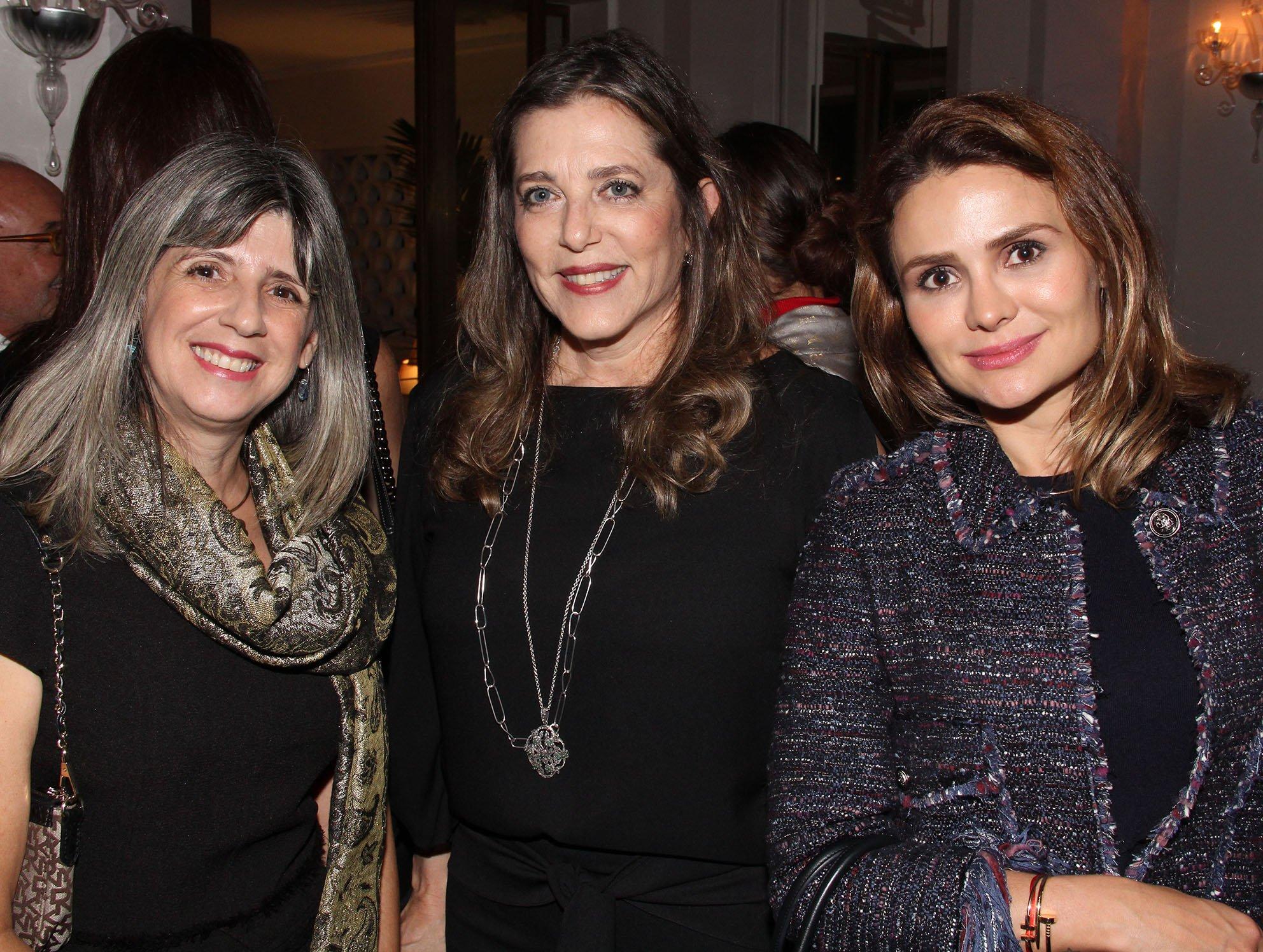 Silvana Freitas, Andréia Repsold e Renta Villarta  /Foto: Paulo de Deus
