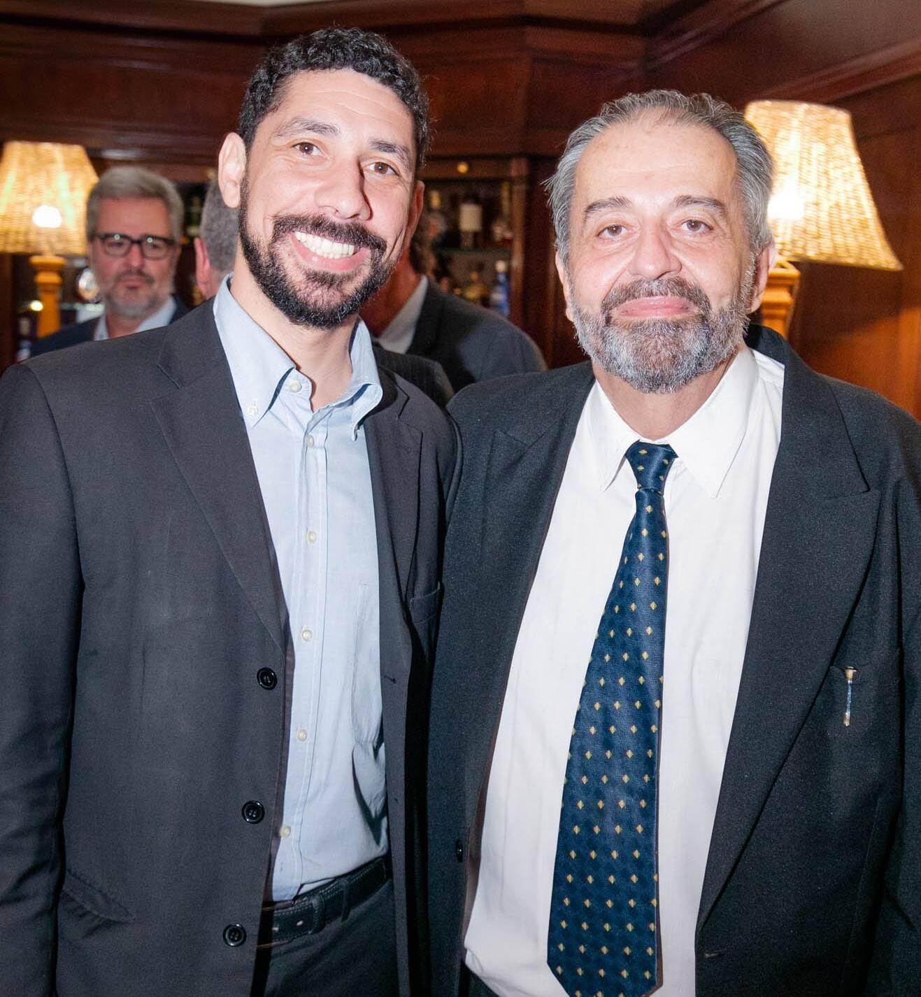 Bruno Costa e Cláudio Bomfim de Castro e Silva  /Foto: Miguel Sá