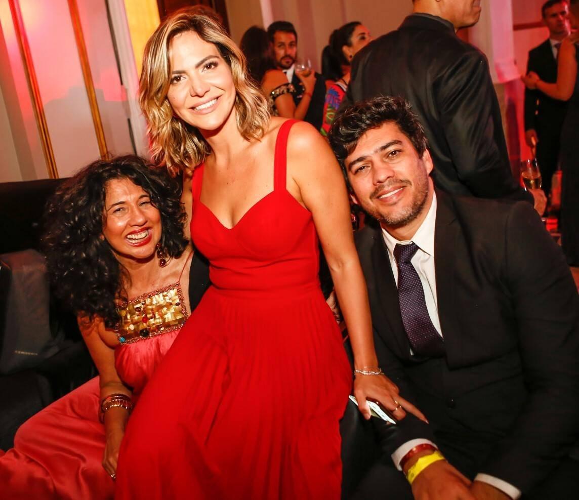 Bianca Teixeira, Carol Sampaio e Alex Pires /Foto: Gianne Carvalho