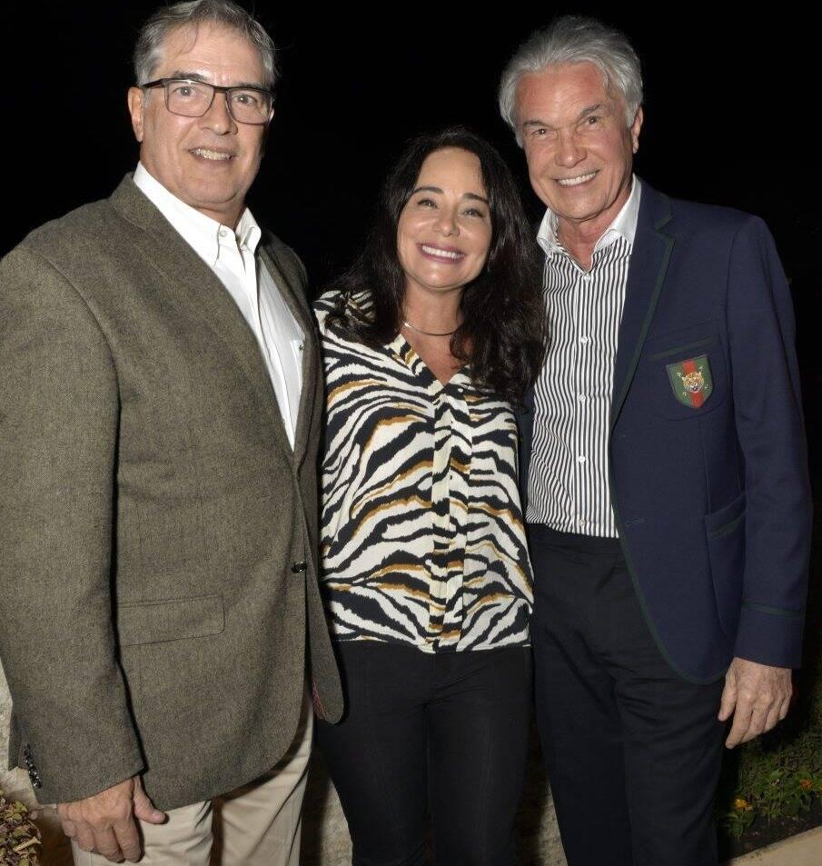 Sérgio Barbosa, Bárbara Machado  e Volney Pitombo /  Foto: Cristina Granato